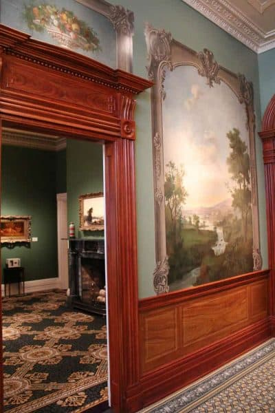 murals at the Taft Museum of Art