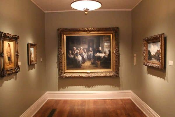 Dutch paintings at the Taft Museum of Art