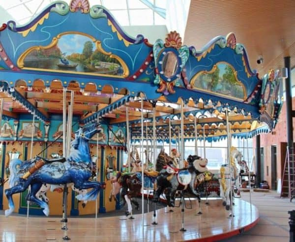 Carol Ann's Carousel at Smale Riverfront Park