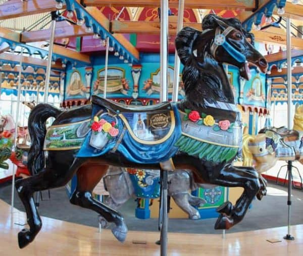 Cincinnati Parks tribute on the Carousel