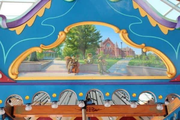 Washington Park depicted on the Carousel at Smale