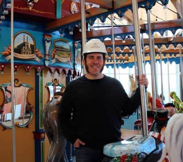 Jonathan Queen at Carol Ann's Carousel