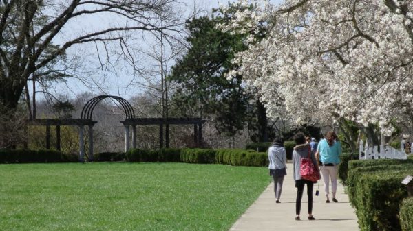 Ault Park in the Spring