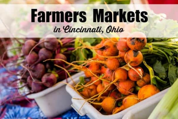 Farmers Markets in Cincinnati