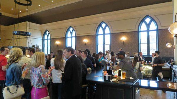 Upper level at Taft's Ale House in Cincinnati