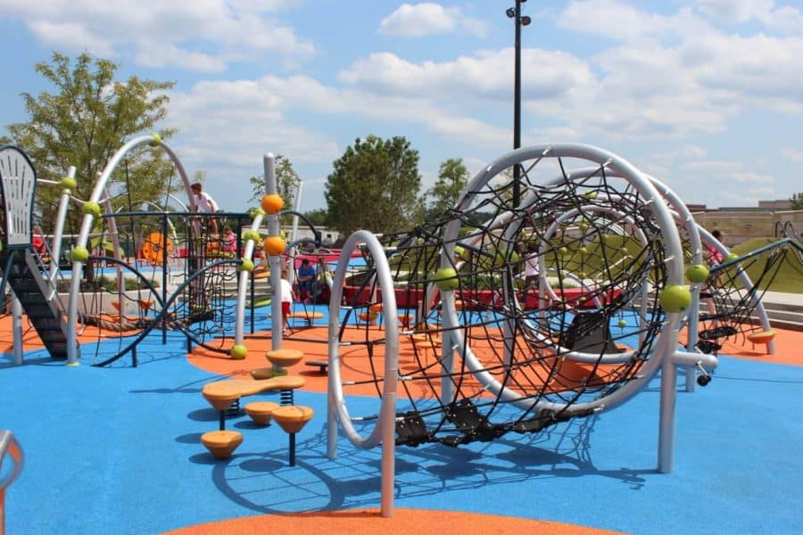 Play Structure at Summit Park in Blue Ash