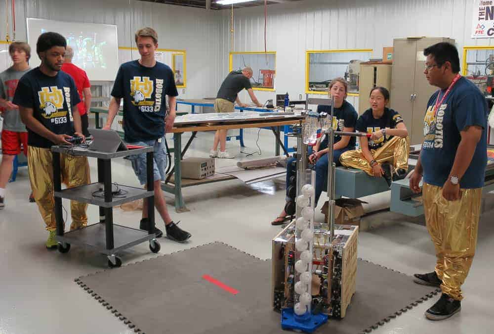 Walnut Hills Robotic Club at Manufactory