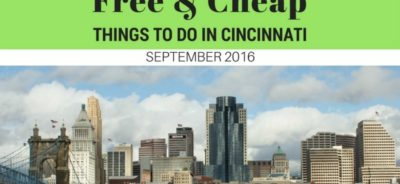 Free and Cheap Things to do in Cincinnati