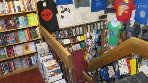 Inside the Book Loft in Columbus Ohio, German Village