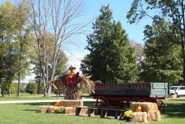 Scarecrow at Bonnybrook Farms