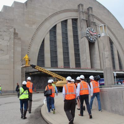Hard Hats and History Tours at Union Terminal