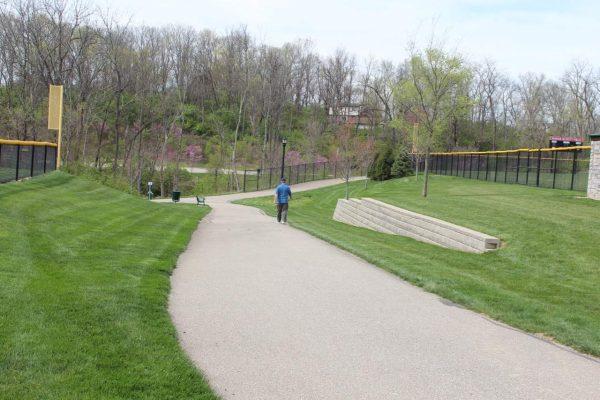 Walking Trail at Bicentennial Park