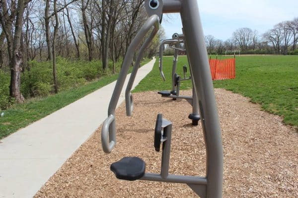 exercise equipment at Ryan Memorial Sports Complex