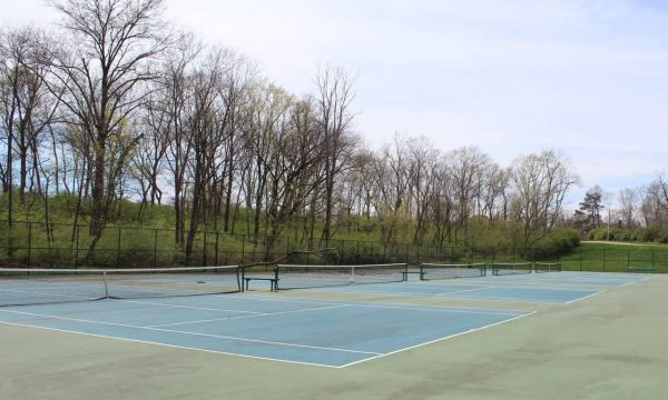 tennis courts at Ryan Memorial Sports Complex
