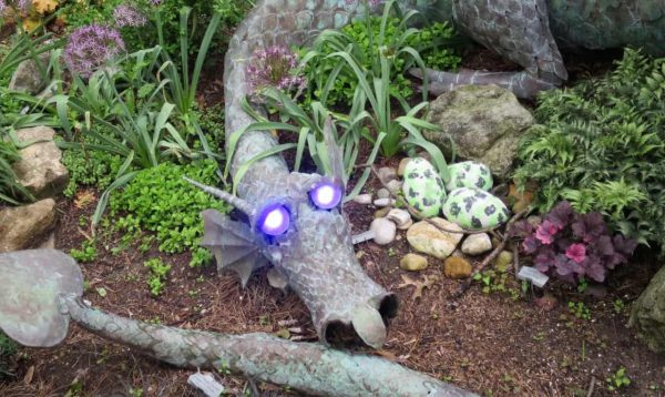 Dragon at Highfield Discovery Garden