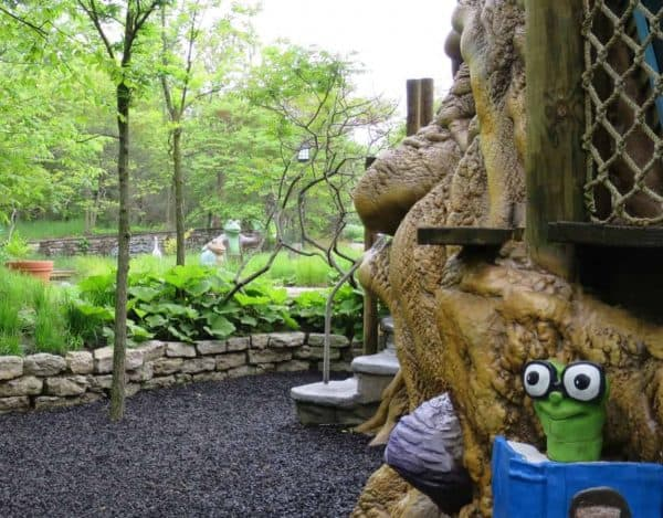 Playground at Highfield Discovery Garden