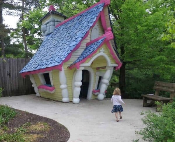 Tea House at Highfield Discovery Garden