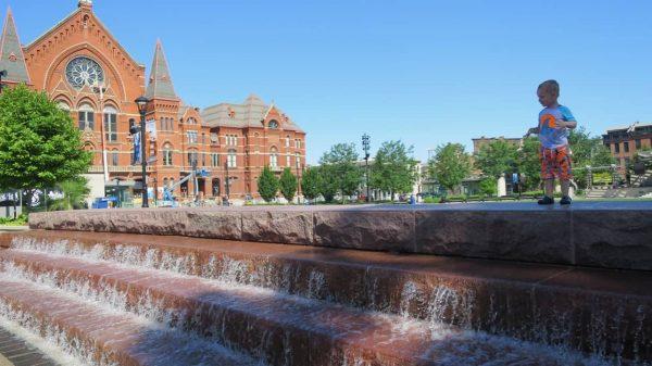 Washington Park Water Features