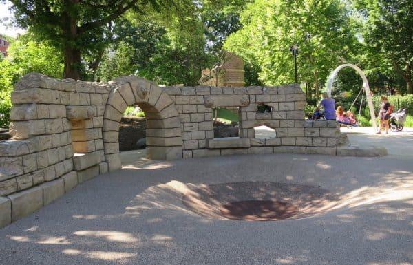 Playground at Washington Park