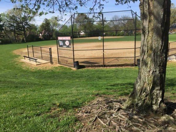ball fields in Pleasant Ridge