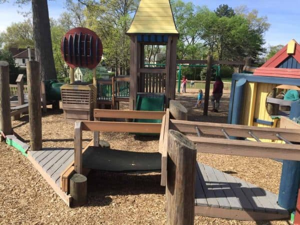 toddler area at 1000 Hands Playground