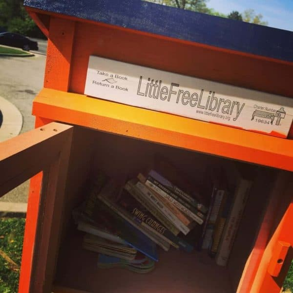 Little Free Library in Pleasant Ridge