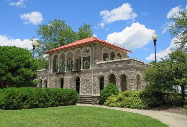 Alms Park Pavilion in Cincinnati Ohio