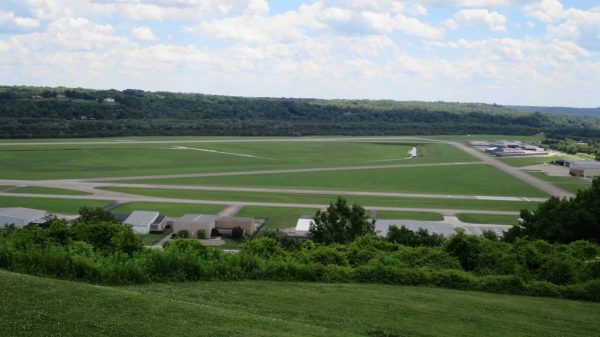 Lunken Airport from above