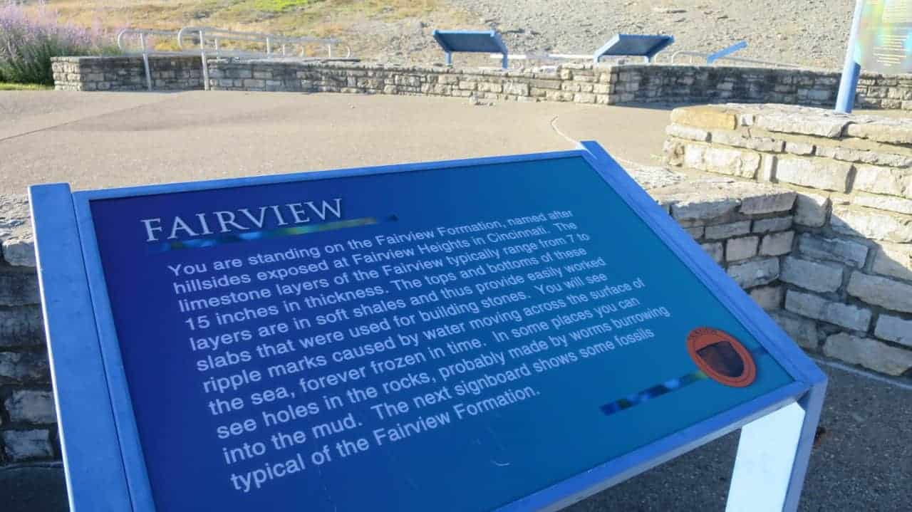 Educational Markers at Trammel Fossil Park