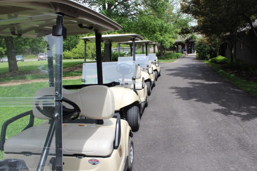 Golf Carts at Meadow Links