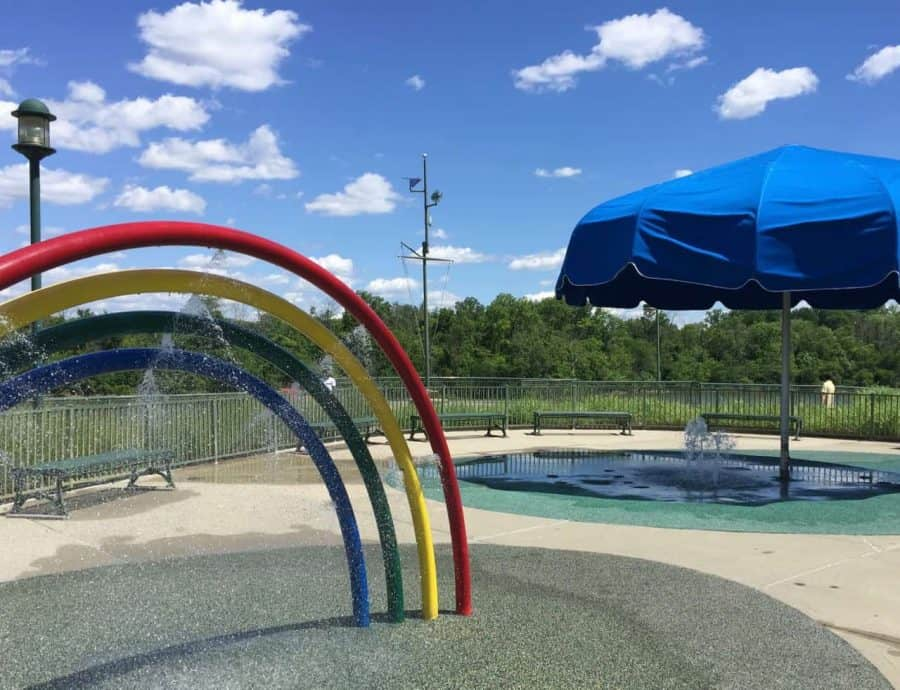 Toddler Area at Winton Woods Wet Playground