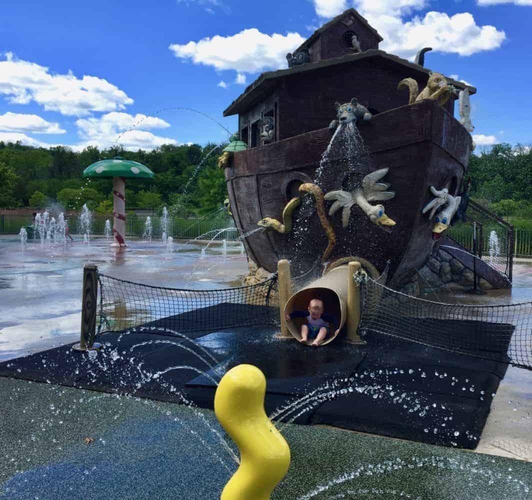 parky's art sprayground at Winton Woods