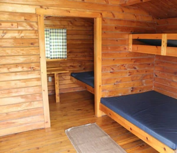 Cabins at Winton Woods Campground