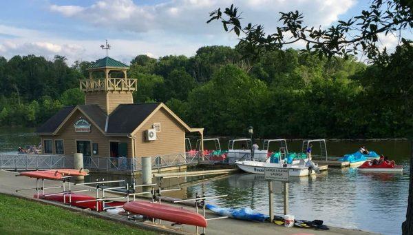 Winton Woods Boathouse