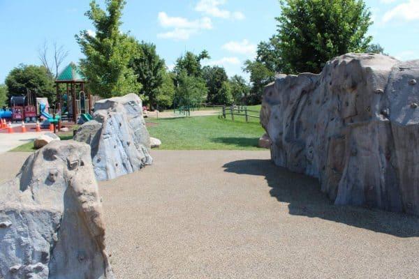 Rock Climbing at Beech Acres Park