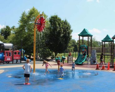 Beech Acres Wet Playground in Anderson