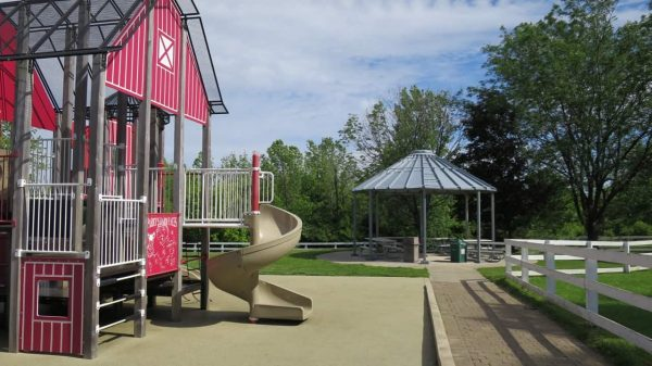 Playground at Parky's Farm