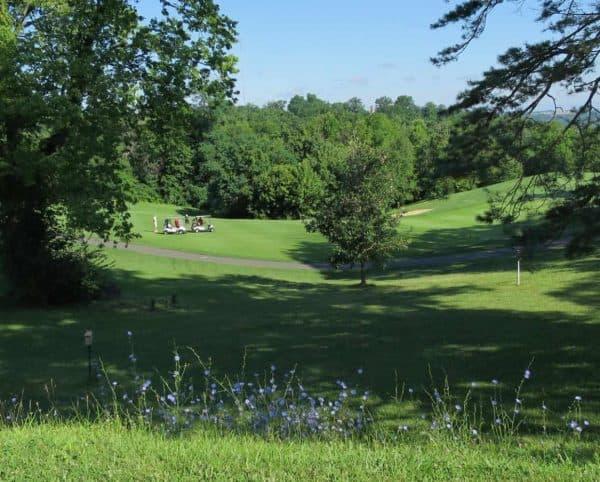 golfing at Devou Park