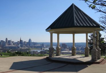 Cincinnati view from Devou Park
