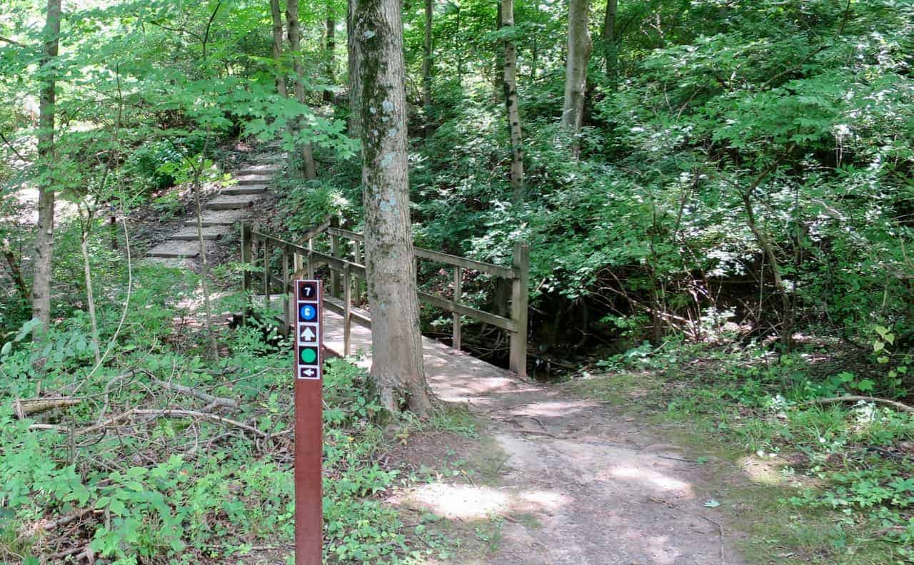 Cascade Trail at Rentschler Forest Preserve - MetroParks of Butler County