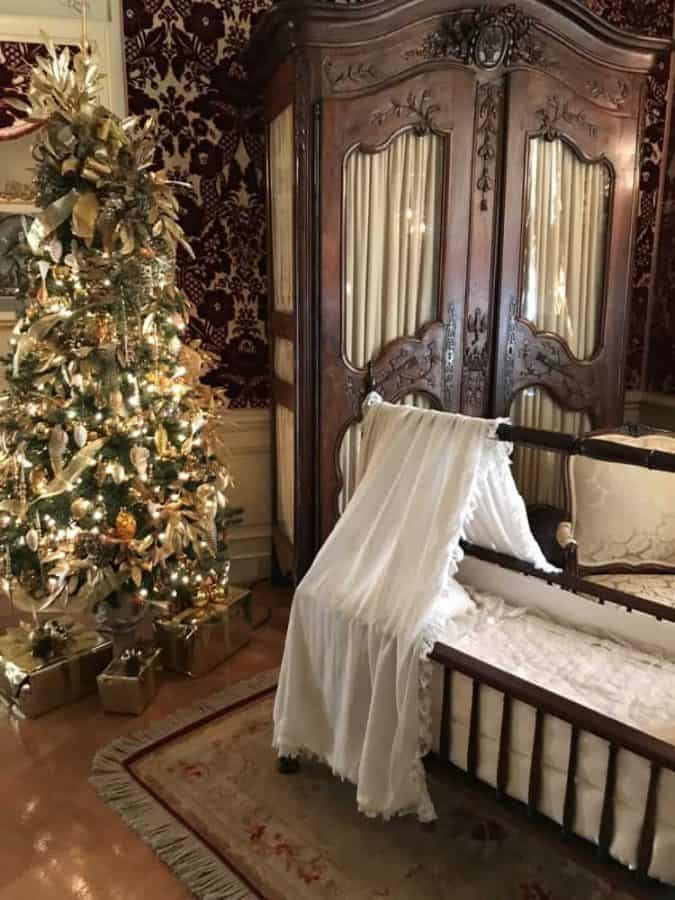 Baby Bed at Biltmore House