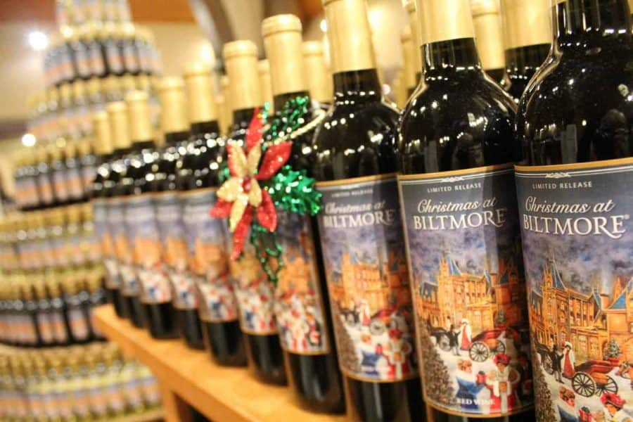 Christmas Wines at Biltmore Estate Winery