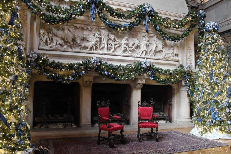 banquet hall at Biltmore House