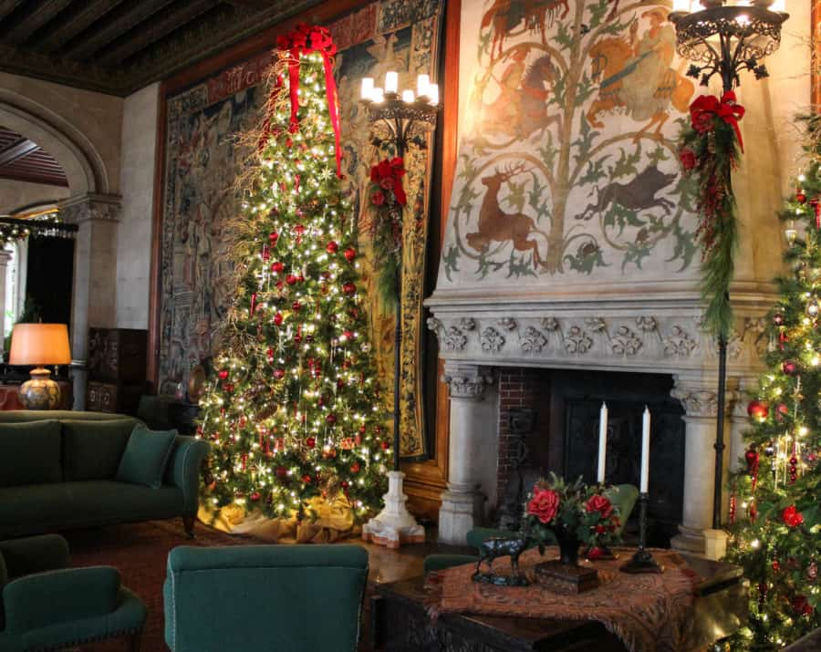 Christmas at Biltmore in Asheville NC