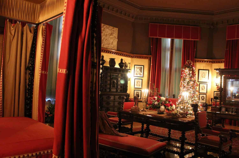 George Vanderbilt's bedroom at Biltmore Estate