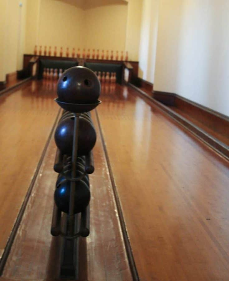 Bowling Alley at Biltmore House