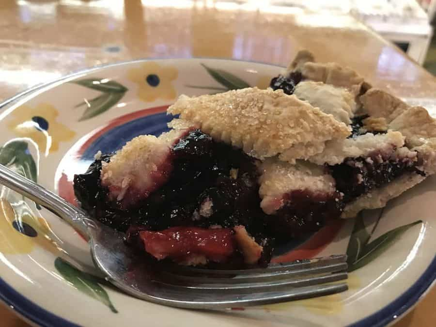 Triple Berry Pie at Bluebird Bakery in Glendale Ohio