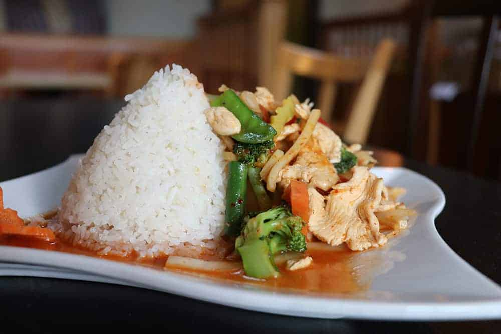 Thai Food at Green Papaya in Hyde Park