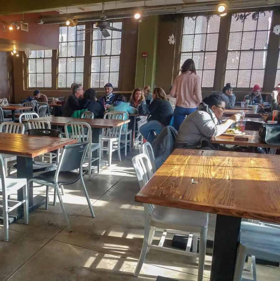 Coffee Emporium seating in OTR