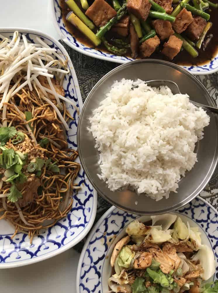 Thai Food at Lemon Grass in Cincinnati
